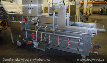 Vzduchová pračka pro mytí zeleniny