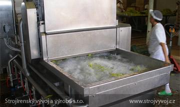 Myjka powietrzna do czyszczenia warzyw