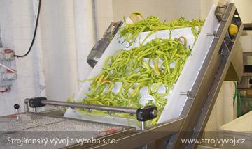 Vzduchová práčka na umývanie zeleniny
