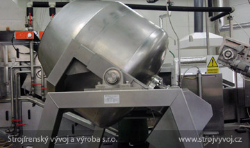 Universal food mixer