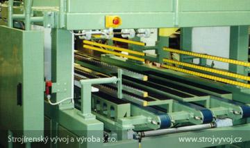 Автоматическая струнная пила для производств изоляционных изделий