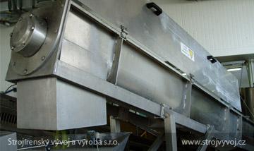 Worm conveyors